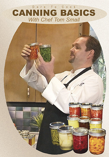 Dare To Cook Canning Basics w/ Chef Tom Small teaches you the basics of canning and preservation.