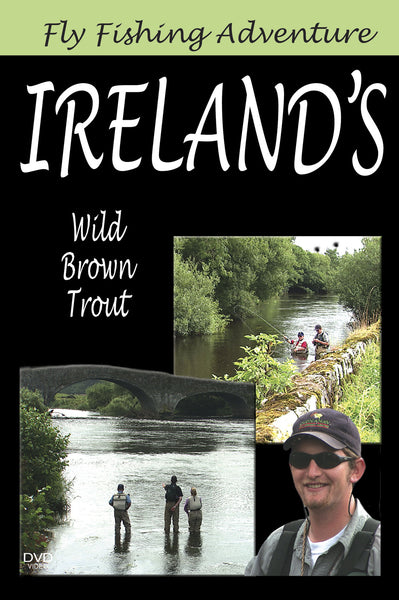 Fly Fishing Adventure Ireland's Wild Brown Trout gives you plenty of fish and lots of time to practice your technique.