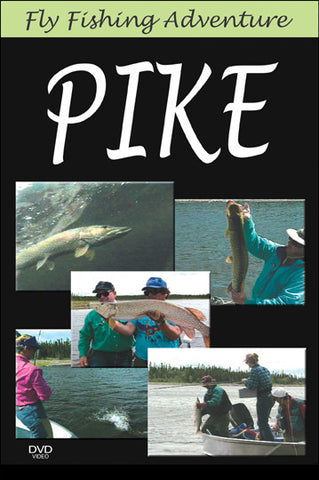 Fly Fishing Adventure, Northern Saskachewan Pike takes you up the river to catch some Pike as well as teach you effective Pike patterns.