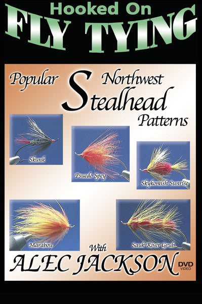 Learn to tie various fly patterns with Hooked on Fly Tying Popular Northwest Steelhead Patterns with Alec Jackson