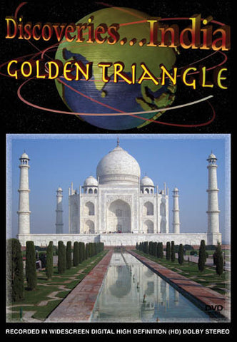 Discoveries India, The Golden Triangle covers three gorgeous cities.