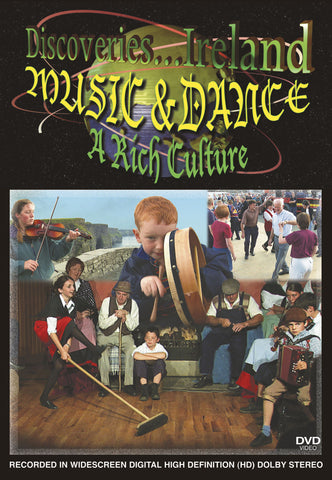 Discoveries Ireland, Music & Dance, A Rich Culture gives you a taste of all the rich culture Ireland has to offer.