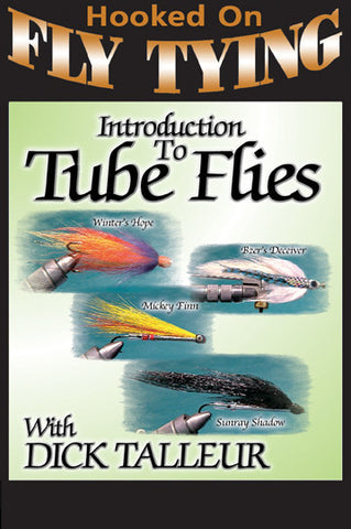 Introduction to Tube Flies with Dick Talleur, Hooked On Fly Tying Series shows you the easiest way to tie effective Tube Flies