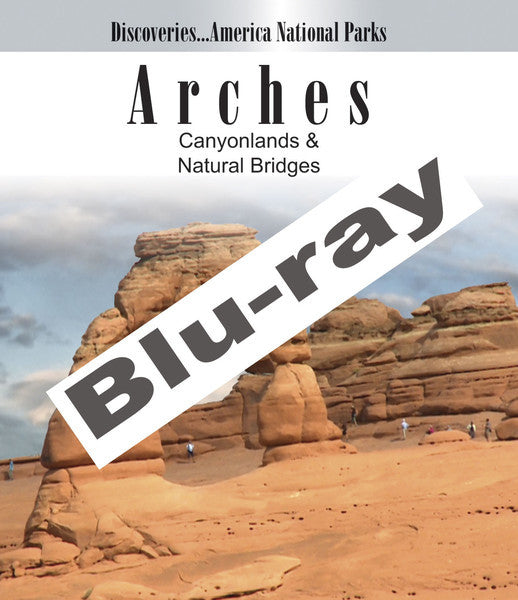Disc. Am. National Parks, ARCHES, Canyon lands & Natural Bridges (Blu-ray) presents the beauty of nature with naturally made arches and canyons.