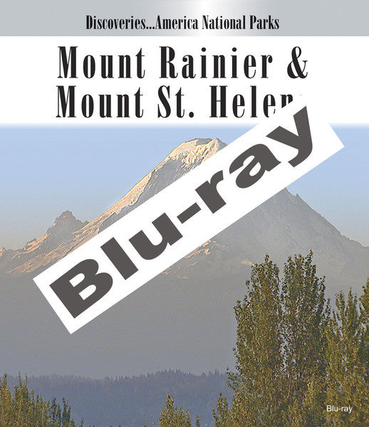 Disc. Am. National Parks, MOUNT RAINIER & MOUNT ST. HELENS Blu-ray