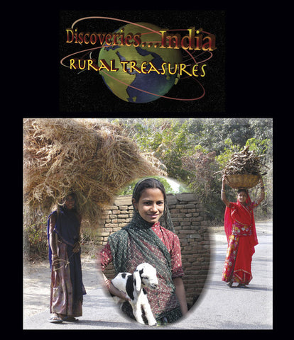 Discoveries India, Rural Treasures (Blu-ray) takes us on a virtual adventure of culture, wonderful people, and great food.