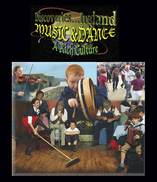 Discoveries Ireland, Music and Dance, A Rich Culture (Blue-ray) takes you inside the lives of the Irish people.