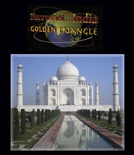 Discover the Golden Triangle and the Taj Mahal standing in all its glory with white stained marble and perfect architecture.