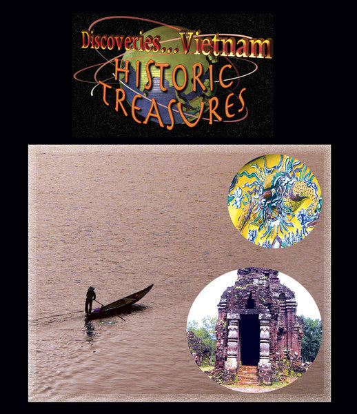 Discoveries Vietnam, Historic Treasures (Blu-ray) presents many historical sites of Vietnam.