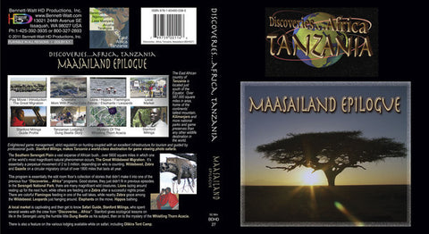 Discoveries Africa Tanzania: Maasailand Epilogue takes you on a journey through Tanzania in the Maasailand for sunsets, birds, villages, and more.