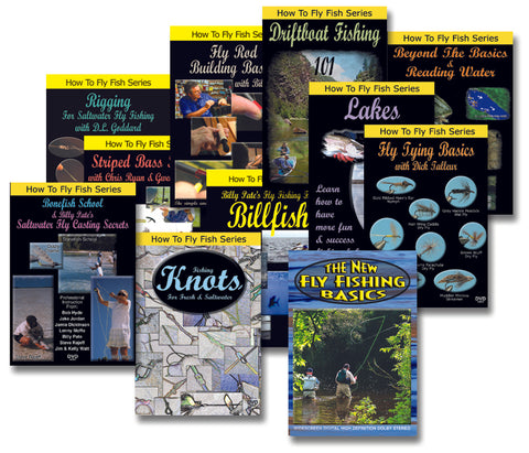 How To Fly Fish Series - 5 DVD Set