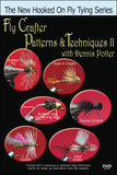 Fly Crafter Patterns and Techniques II with Dennis Potter showcases more fly tying techniques