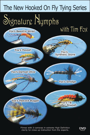Signature Nymphs with Tim Fox demonstrates how to tie Fox's signature flies.
