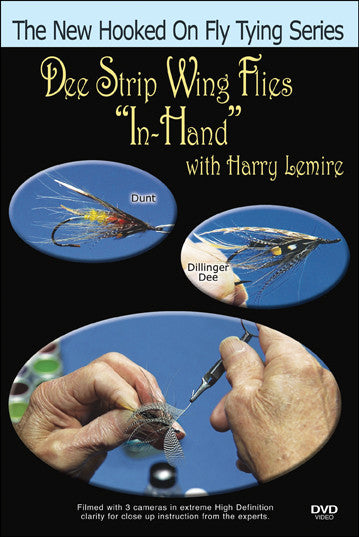 "Dee Strip Wing Flies ""In-Hand"" with Harry Lemire shows you how to tie flies."