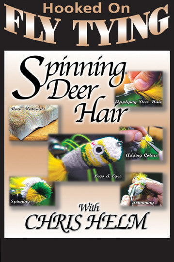 In Spinning Deer Hair with Chris Helm, Hooked On Fly Tying Series you will learn several techniques for tying a good spinning deer hair.