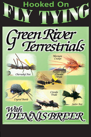 Green River Terrestrials with Denny Breer, Hooked On Fly Tying Series teaches more knots to tie with expert Denny Breer