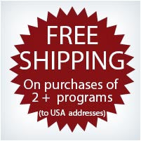 Free Shipping on purchase of 2 or more programs