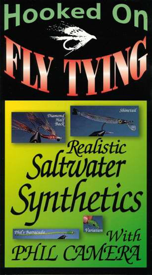 Realistic Saltwater Synthetics w/ Phil Camera demonstrate how to use synthetic materials to make realistic fly patterns.