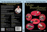 Fly Crafter Patterns & Techniques I; Dennis Potter New Hooked On Fly Tying Series