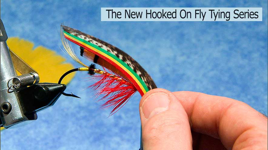New Hooked On Fly Tying