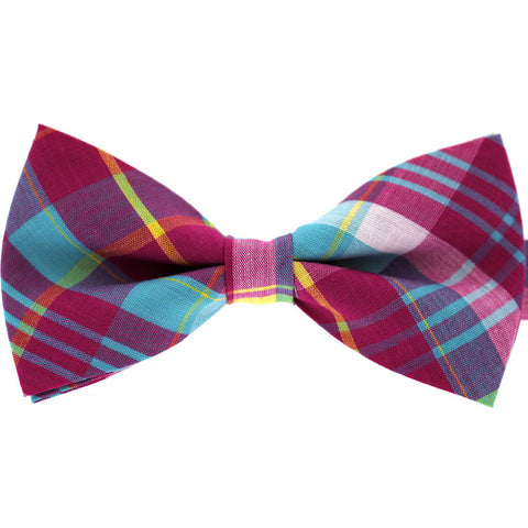 Tok Tok Designs Pre-Tied Bow Tie for Men & Teenagers (B125, T/C Cotton)