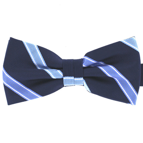 Tok Tok Designs Pre-Tied Bow Tie for Men & Teenagers (B209, Navy Blue)