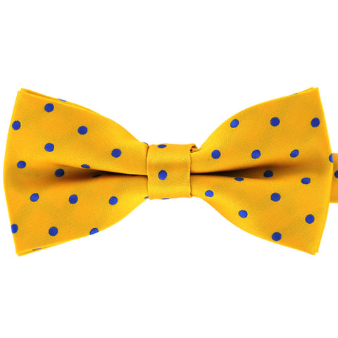 Tok Tok Designs Pre-Tied Bow Tie for Men & Teenagers (B246, Yellow)