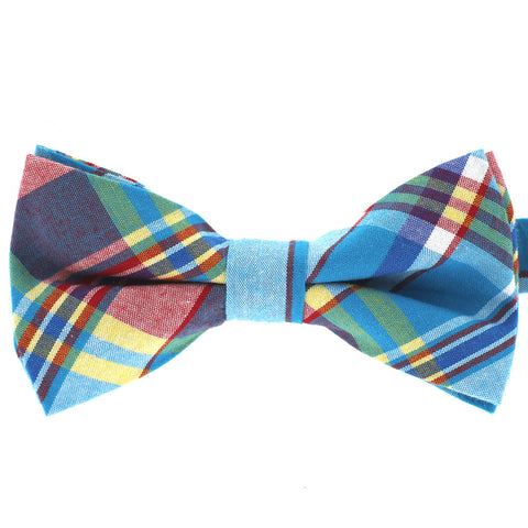 Tok Tok Designs Pre-Tied Bow Tie for Men & Teenagers (B325, 100% Cotton)