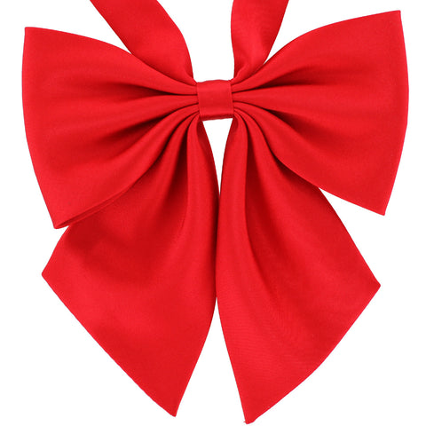 Tok Tok Designs?? Handmade Bow Ties for Women & Ladies (W15, Royal Red)