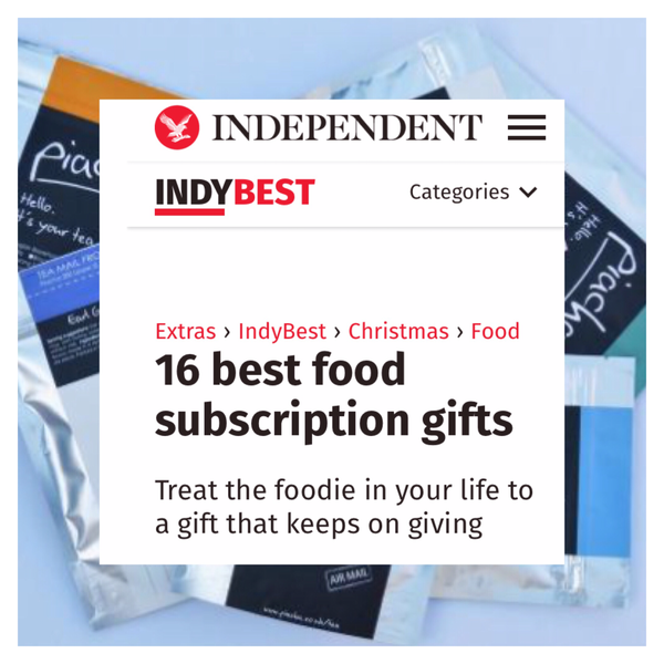 Independent 16 Best Food Subscription Gifts 2016 Piacha