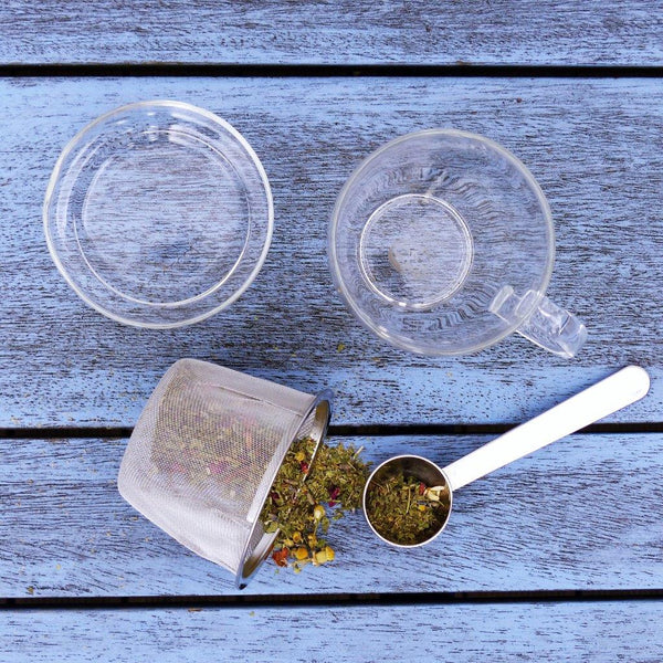 Glass Tea Cup + infuser