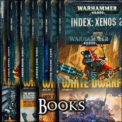 40k Books & Literature