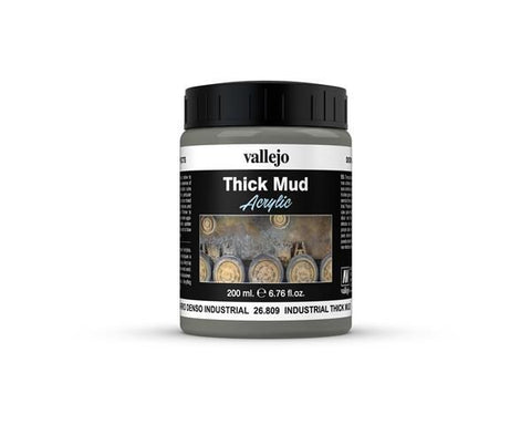 26.809 Vallejo Diorama Effects Industrial Thick Mud 200ml