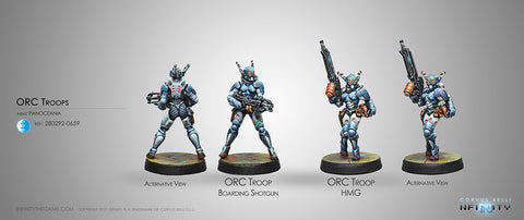 PanOceania Orc Troops (HMG/Boarding Shotgun) 280292