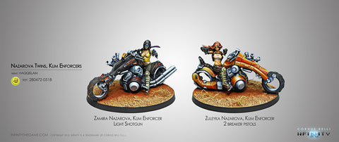 Haqqislam THE NAZAROVA TWINS, KUM ENFORCERS 280472