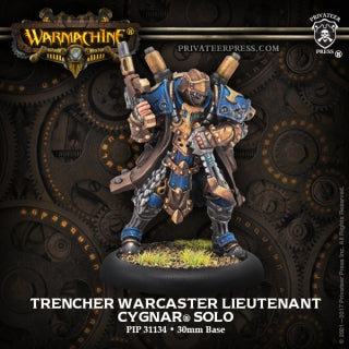 PIP31134 Trencher Warcaster Lieutenant