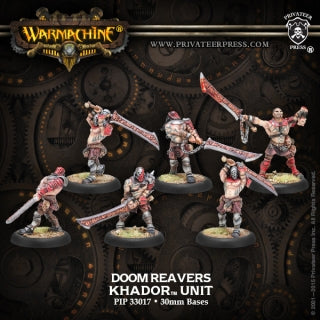 PIP33017 Khador Doomreaver Unit Box