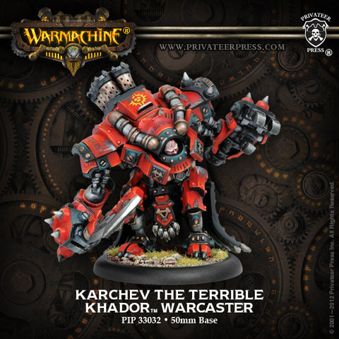 PIP33032 Khador Warcaster Karchev the Terrible