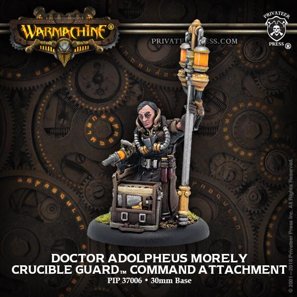 PIP37006 Doctor Adolpheus Morely - Golden Crucible Character Solo (metal/resin)