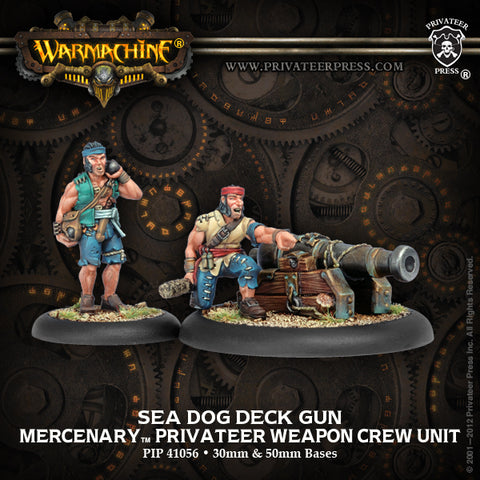 PIP41056 Sea Dog Deck Gun Crew