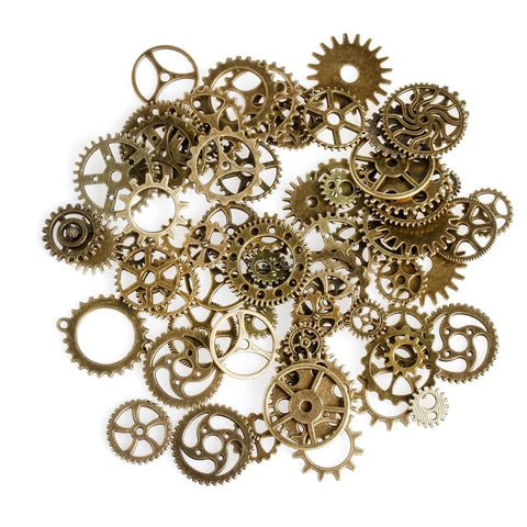 OzHobbies Brass Cogs 100g