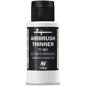 71.361 Vallejo Auxiliary Airbrush Thinner (60ml)