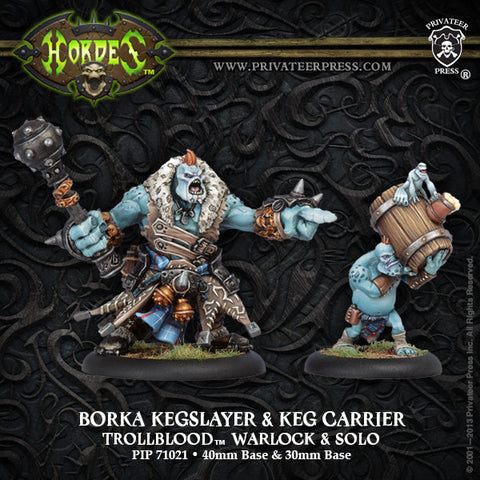 PIP71021	Borka Kegslayer & Keg Carrier