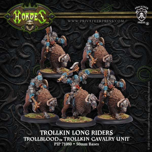 PIP71080	Trollkin Long Riders