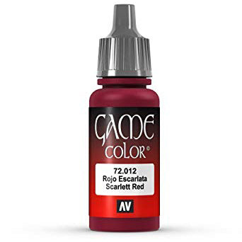72.012 Game Color Scarlett Red