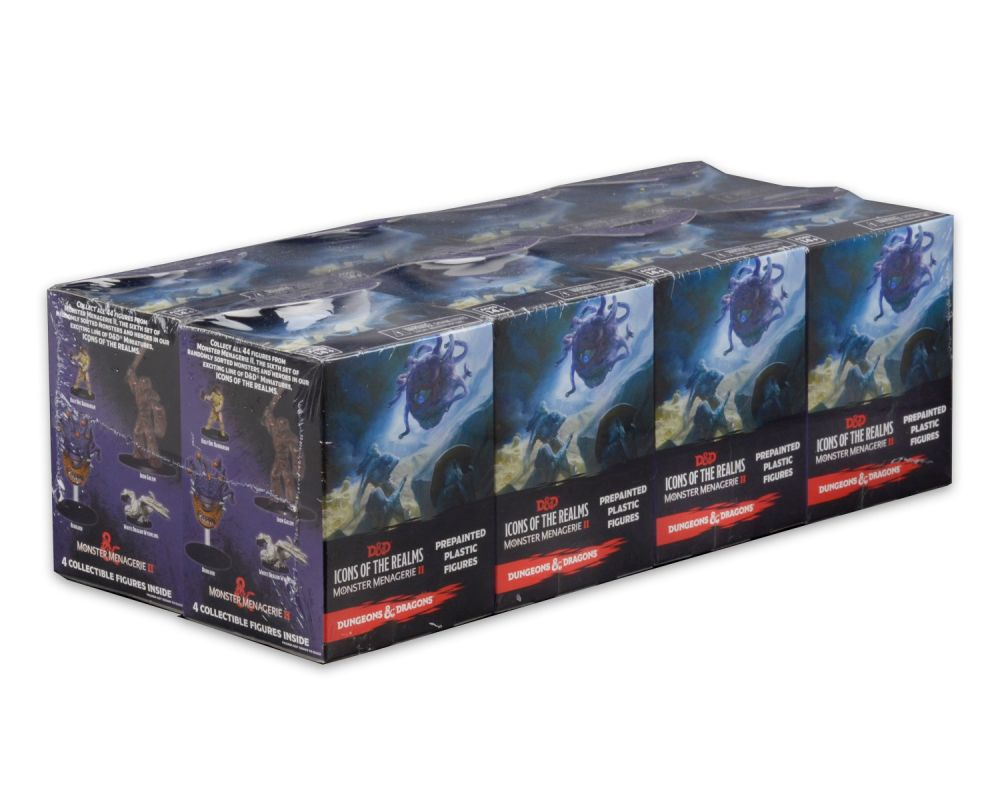 Skip to the beginning of the images gallery D&D Icons of the Realms Monster Menagerie 2 Booster BRICK