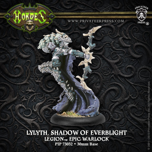 PIP73032	Lylyth, Shadow of Everblight - Legion Epic Blighted Nyss Warlock