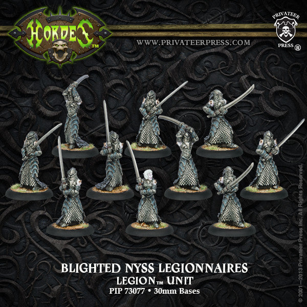 PIP73077	Blighted Nyss Legionnaires - Legion Unit