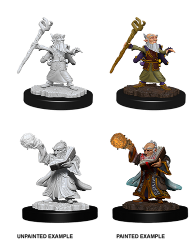 D&D Nolzurs Marvelous Unpainted Miniatures Male Gnome Wizard