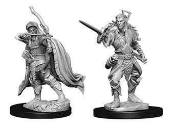 D&D Nolzurs Marvelous Unpainted Miniatures Male Elf Rogue